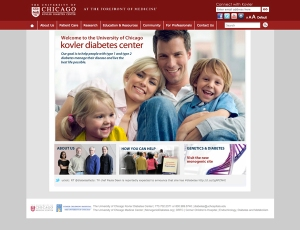 Enhanced Kovler Diabetes Center Website