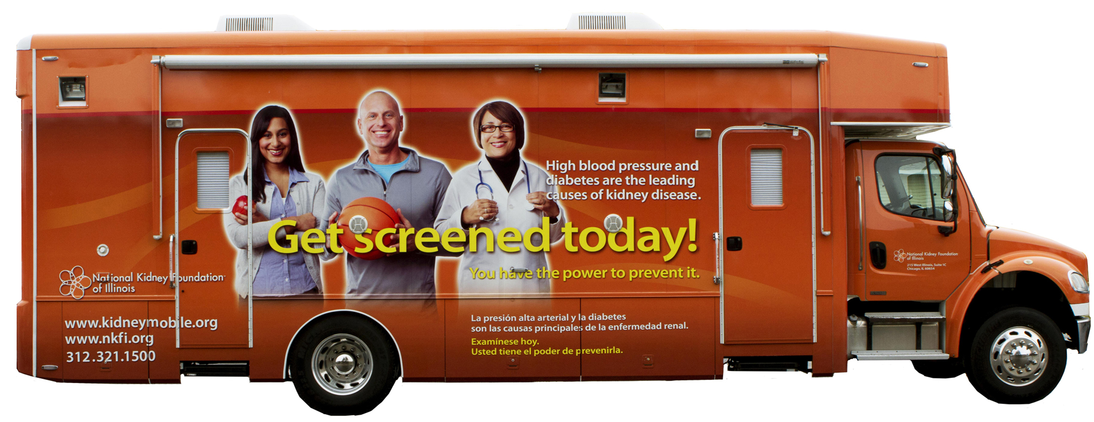 "Kidney Mobile and ""World Kidney Day"""